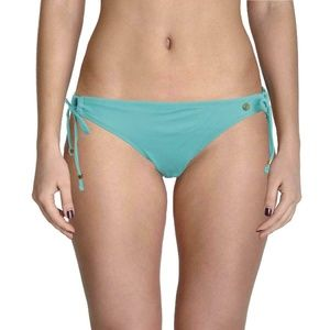 RAISINS SWEET PEA GREEN TIE SIDES BIKINI BOTTOM M